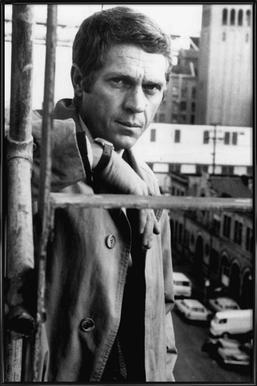 Steve McQueen in Bullitt, 1968