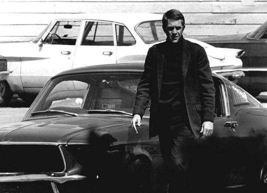 Steve McQueen in Bullitt, 1969 Canvas Print