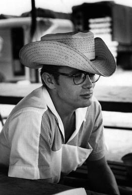 James Dean with Cowboy Hat
