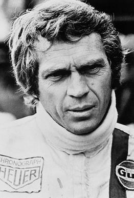 Steve McQueen in Le Mans 2, 1971 Akrylglastavla
