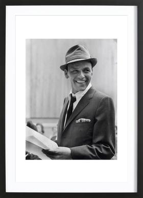 Frank Sinatra, 1957 - Poster in Wooden Frame