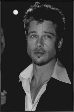 Brad Pitt Framed Poster