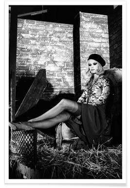 Brigitte Bardot - Bonnie And Clyde Poster