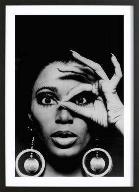 Donyale Luna, 1970 Framed Print