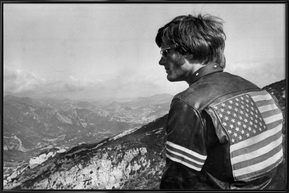 Easy Rider, Peter Fonda Framed Poster