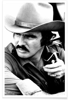 Burt Reynolds in Smokey and the Bandit Photograph Poster