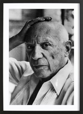 Pablo Picasso - Poster in houten lijst