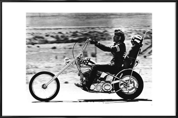 """Peter Fonda """"Easy Rider"""" 1969 - Poster in Standard Frame"""