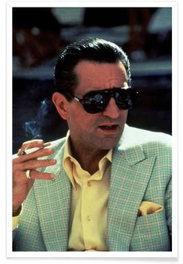 Robert De Niro in Casino, 1995 Photograph Poster