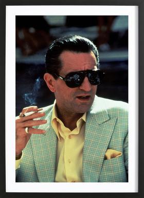 Robert De Niro in 'Casino', 1995 Framed Print