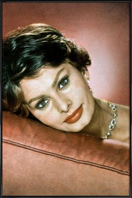 Sophia Loren in the Sixties Framed Poster