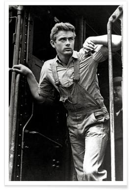 James Dean, 'East of Eden' Poster