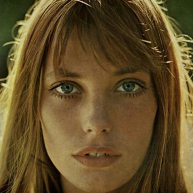 Jane Birkin -Acrylglasbild