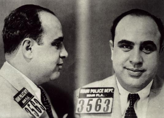 Al Capone's Mugshot Canvas Print