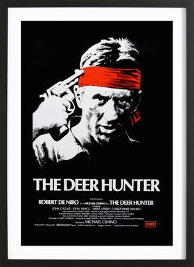 'The Deer Hunter' Retro Movie Poster