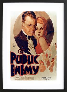 'The Public Enemy' Retro Movie Poster