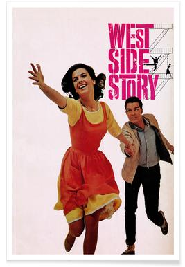 'West Side Story' Retro Movie Poster Poster