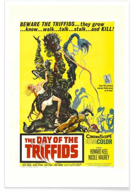 'The Day of the Triffids' Retro Movie Poster