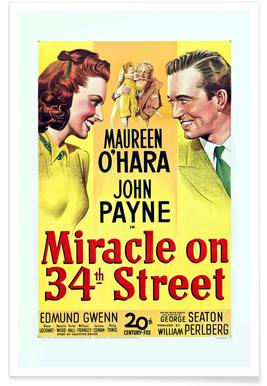 'Miracle On 34th Street' Retro Movie Poster