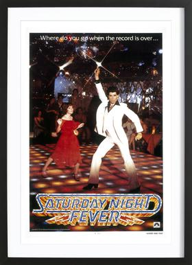 'Saturday Night Fever' Retro Movie Poster