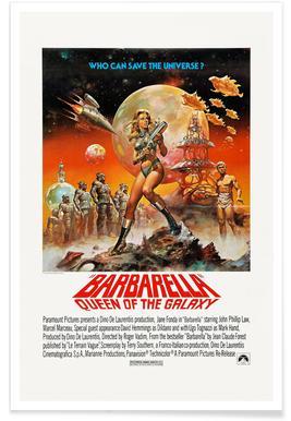 'Barbarella' Retro Movie Poster