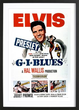 'G.I. Blues' Retro Movie Poster