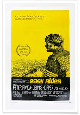 'Easy Rider' Retro Movie Poster poster