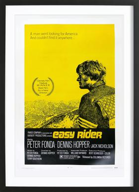 'Easy Rider' Retro Movie Poster