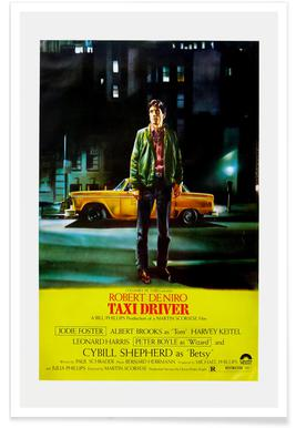'Taxi Driver' Retro Movie Poster poster