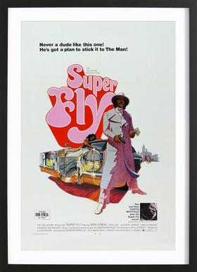 'Super Fly' Retro Movie Poster