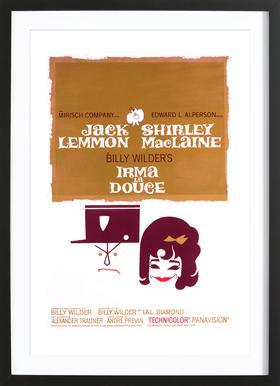 'Irma La Douce' Retro Movie Poster