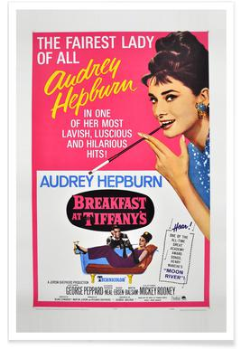 'Breakfast at Tiffany's' Movie Poster poster