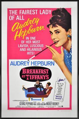 'Breakfast at Tiffany's' Movie Poster