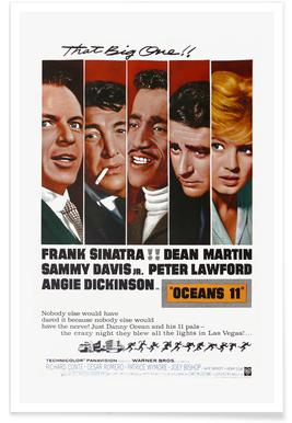 'Ocean's 11' Retro Movie Poster -Poster