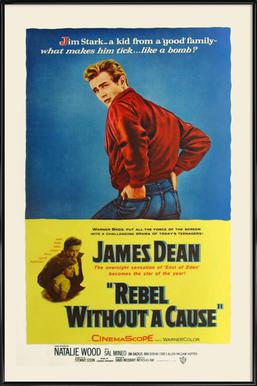 'Rebel Without a Cause' Retro Movie Poster