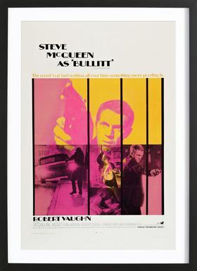 'Bullitt' Retro Movie Poster