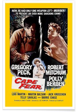 'Cape Fear' Retro Movie Poster