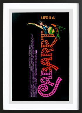 'Cabaret' Retro Movie Poster