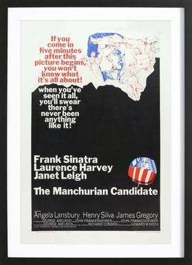 'The Manchurian Candidate' Retro Movie Poster