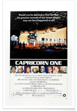 'Capricorn One' Retro Movie Poster