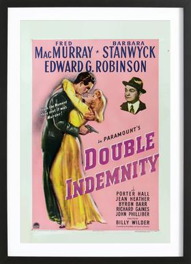 'Double Indemnity' Retro Movie Poster