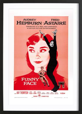 'Funny Face' Retro Movie Poster