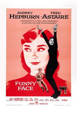 'Funny Face' Retro Movie Poster
