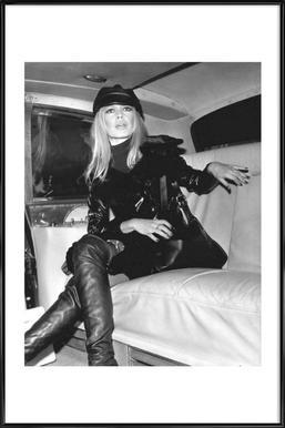 Bridget Bardot, 1968 -Bild mit Kunststoffrahmen
