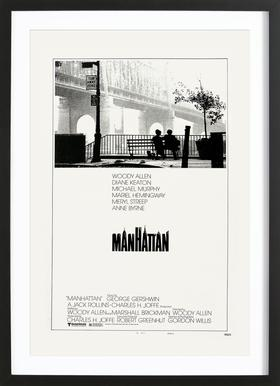'Manhattan' Retro Movie Poster