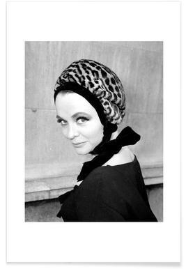 Tania Edye, 1962 Vintage Photograph Poster