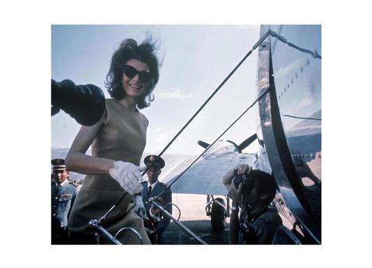 Jackie Kennedy, 1962 Asia visit Canvas Print
