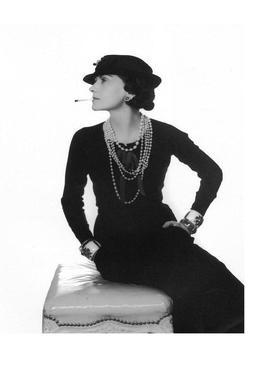 Coco Chanel, 1972 -Leinwandbild