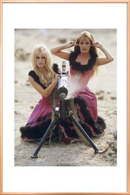 Brigitte Bardot and Jeanne Moreau, 1965