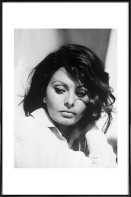 Sofia Loren, 1969 - Affiche sous cadre standard